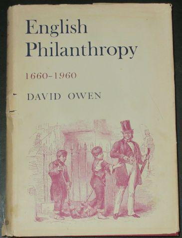 English Philanthropy, 1660-1960, by David Owen